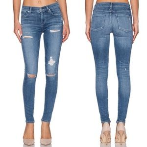 Agolde Sophie High Rise Skinny Jeans in Cannes